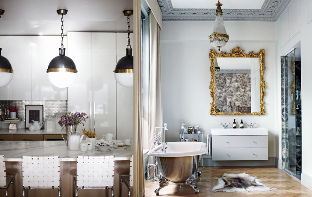 Mixed Metals - Interior Design