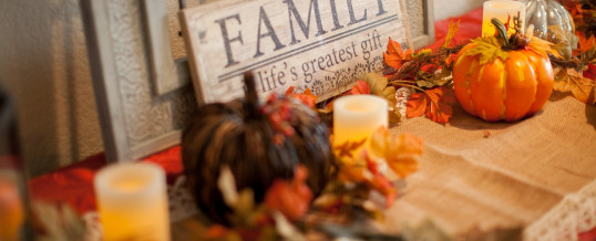 4 Decor Ideas for Thanksgiving