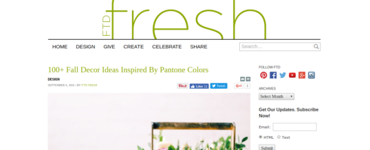 Pantone's Seasonal Color Palettes – Read the Guide Here