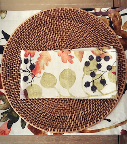 Fall interior deign ideas for place setting