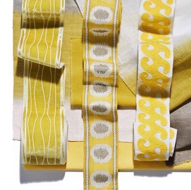 Bright Yellow Fabrics
